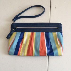 Handbags - Multicolor wristlet-like new!
